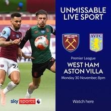 West Ham United v Aston Villa (Premier League)