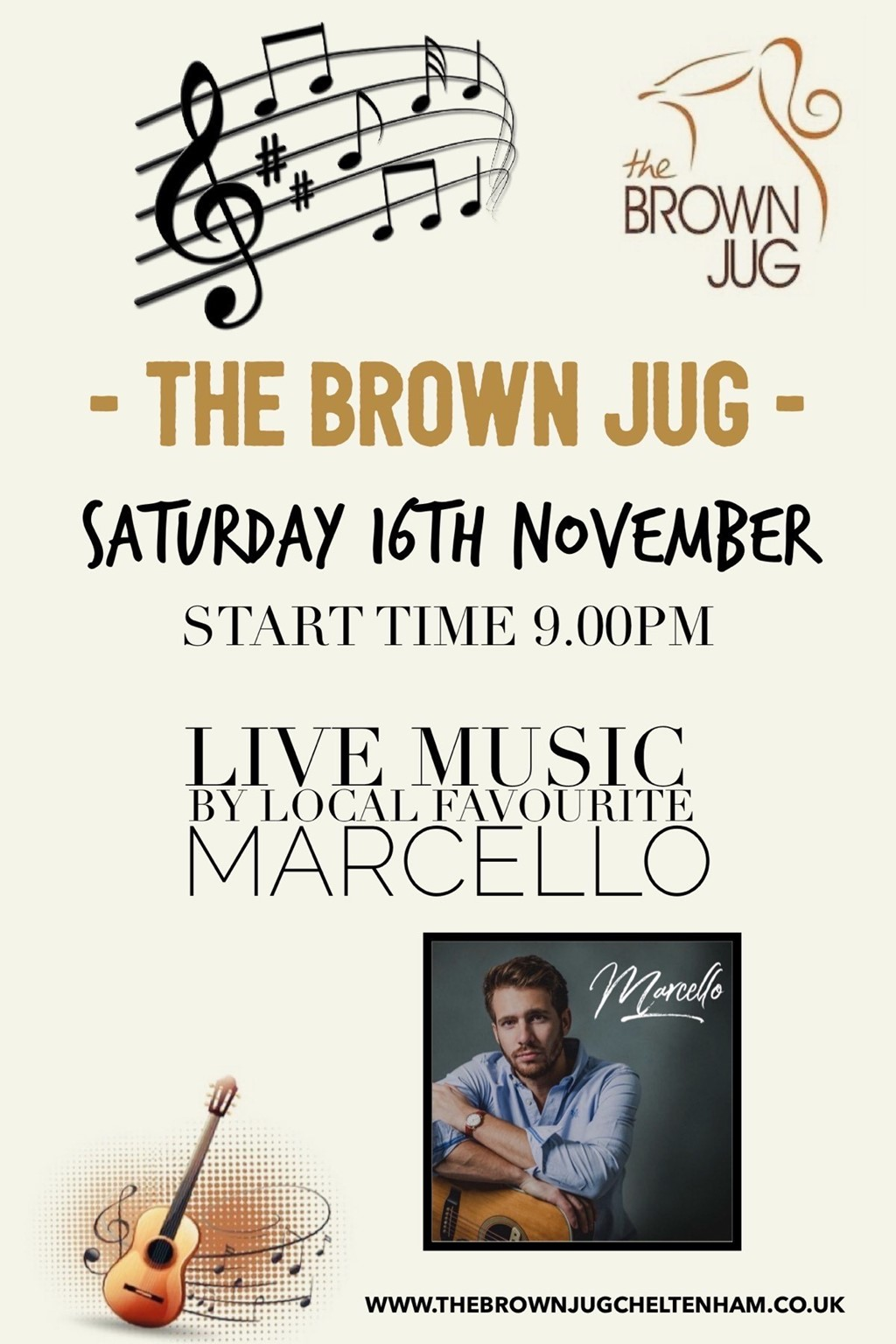 LIVE MUSIC: Marcello