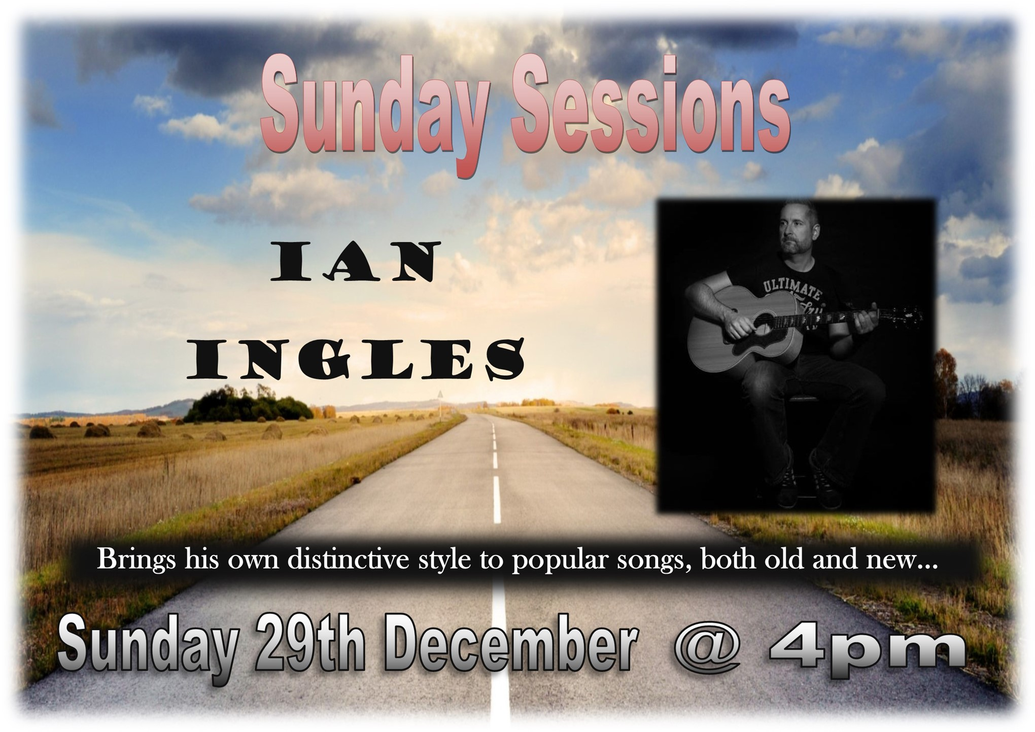 Sundfay Sessions with Ian Ingle