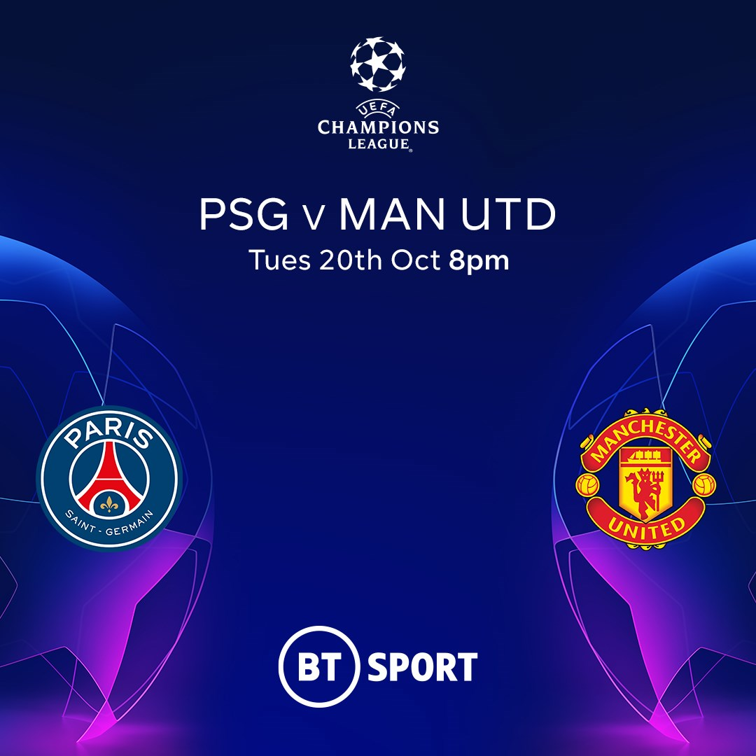 PSG v Manchester United (Champions League)