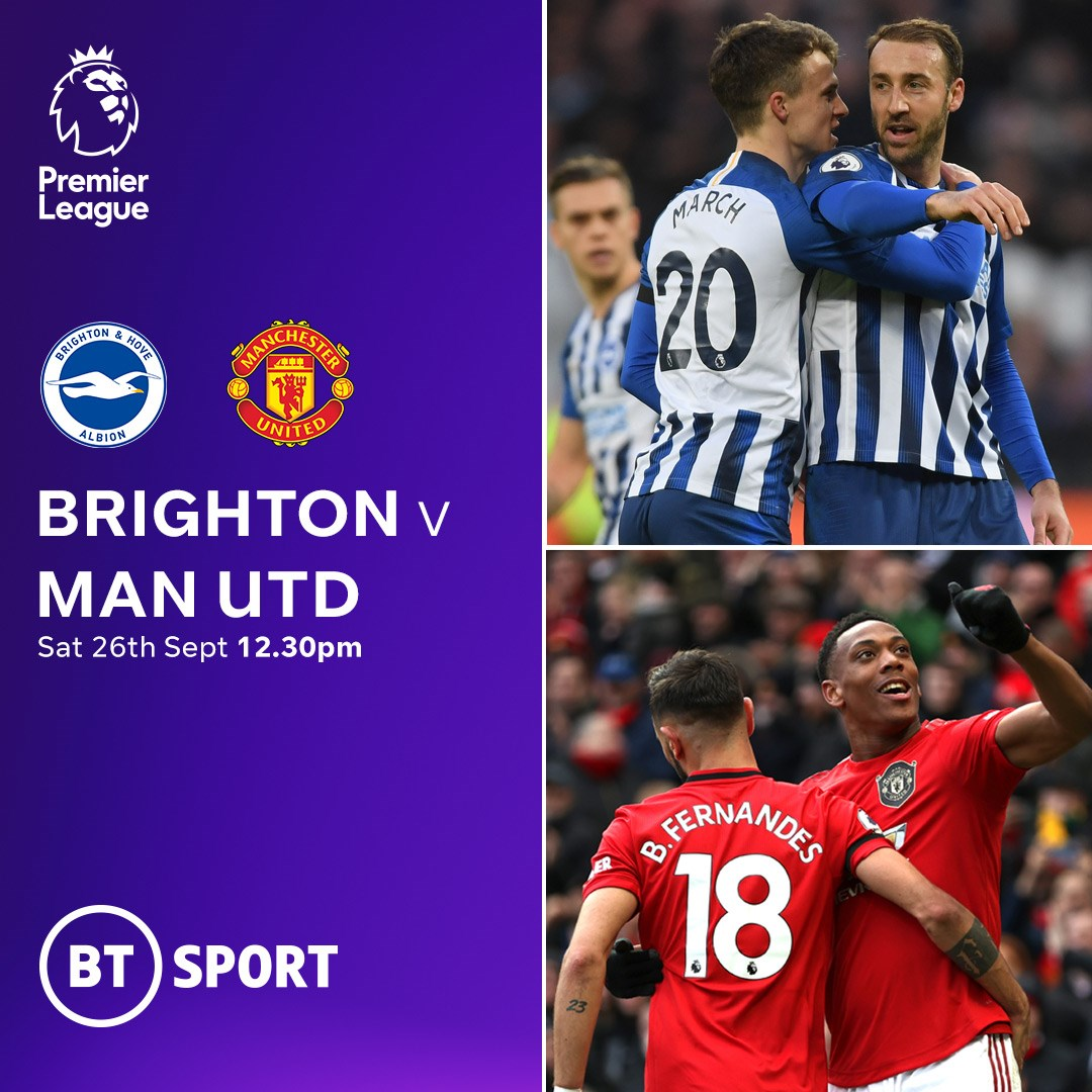 Brighton v Manchester United (Premier League)