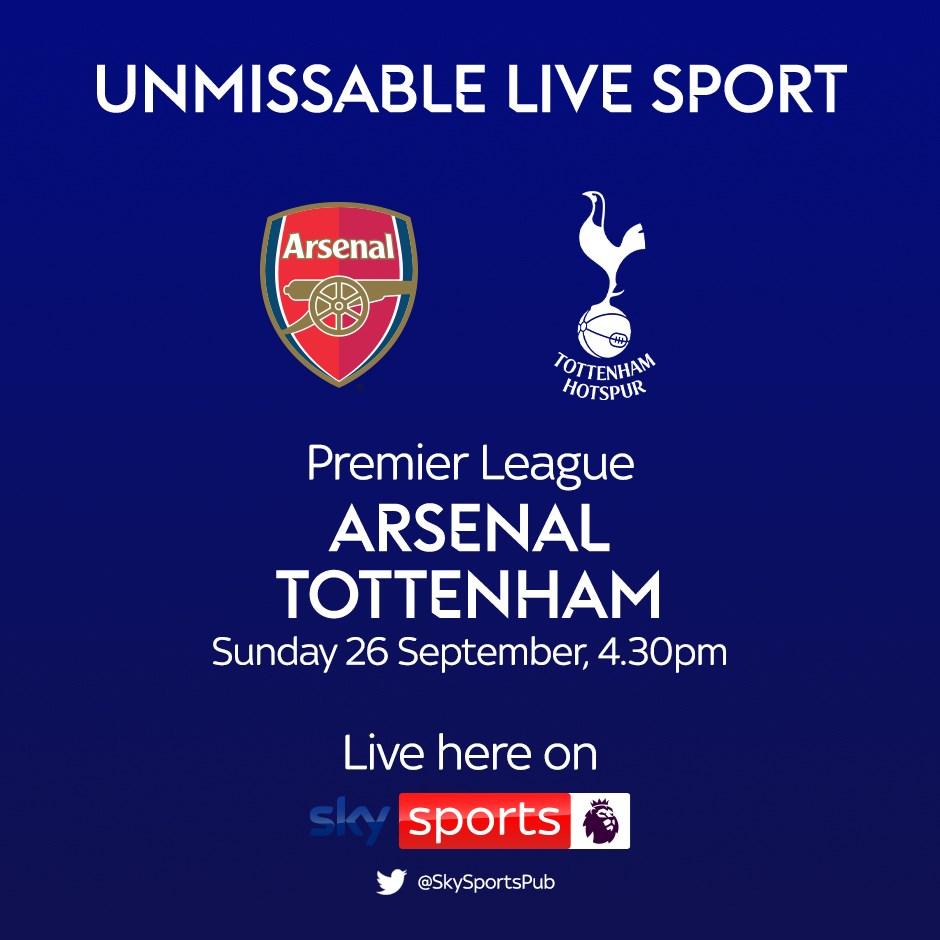 Arsenal v Spurs (Premier League)