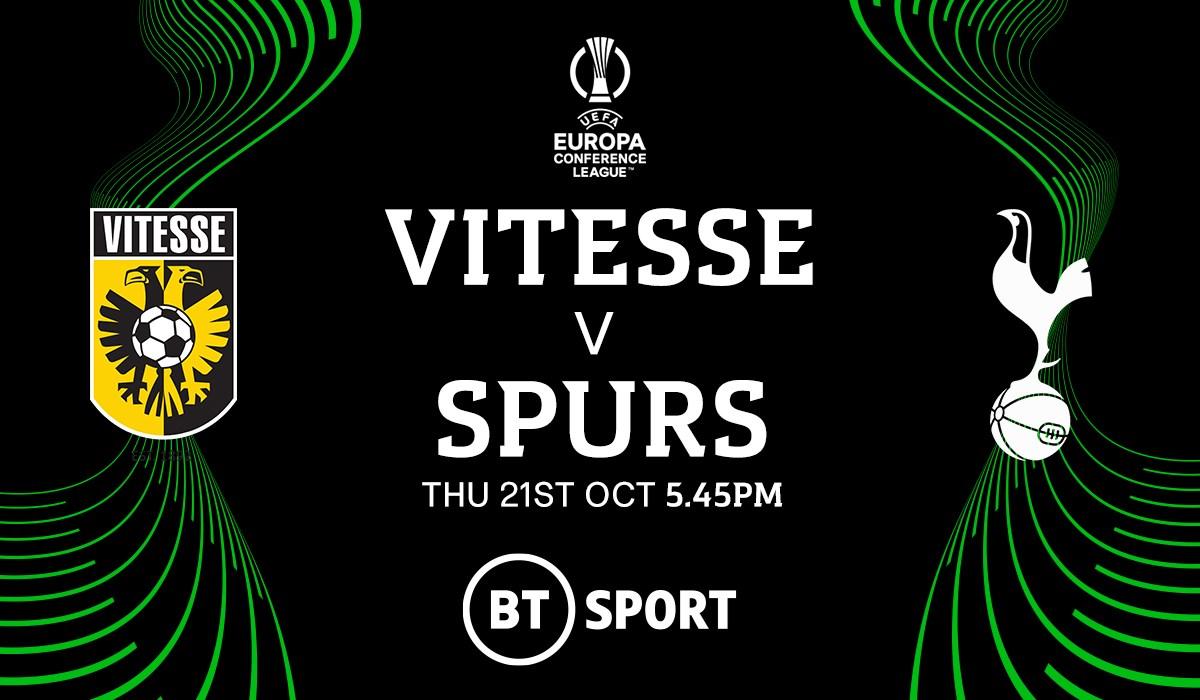 Vitesse v Tottenham (Europa League)