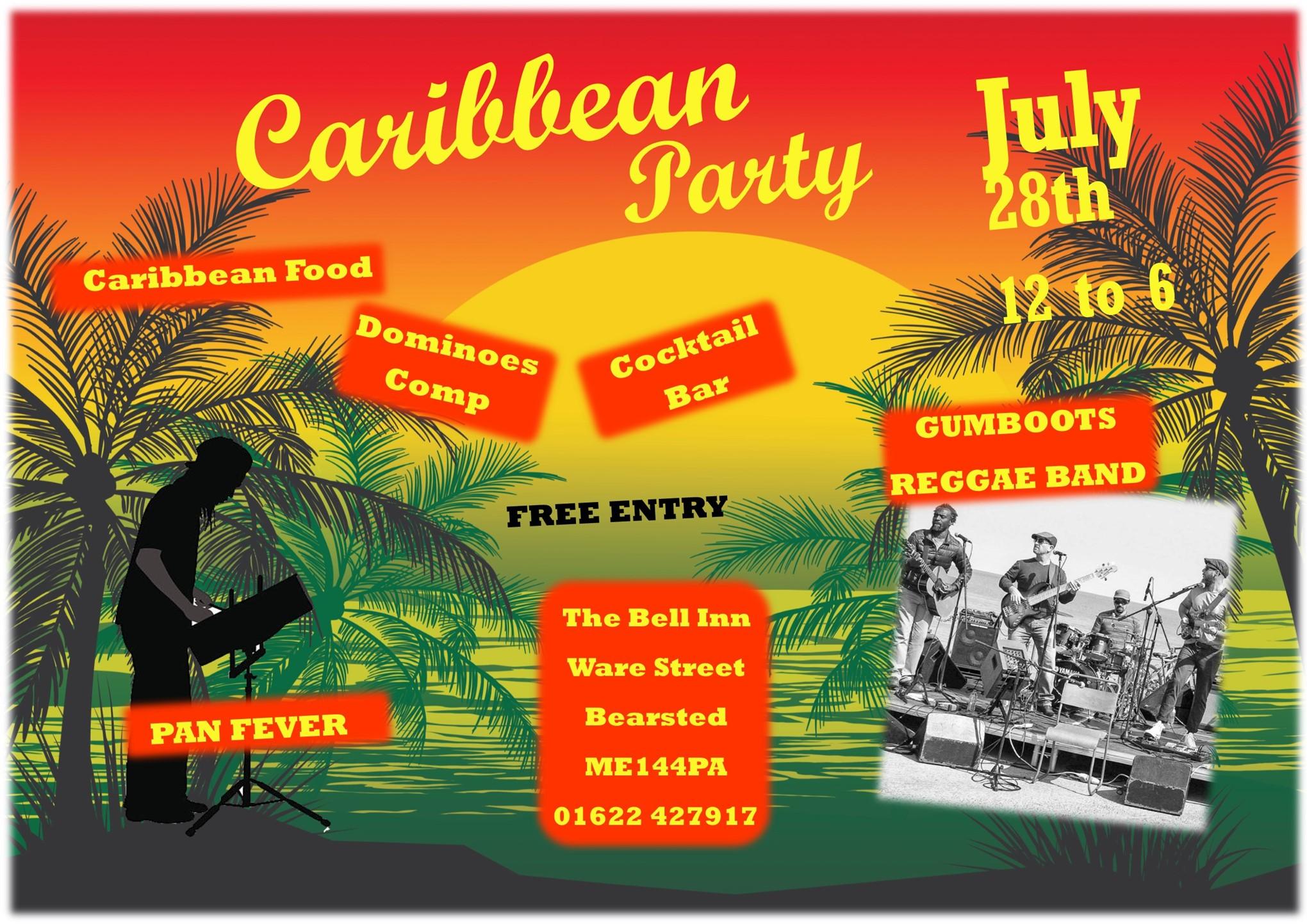Caribbean Garden Party