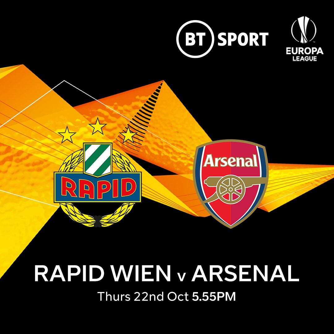 Rapid Wien v Arsenal (Europa League)