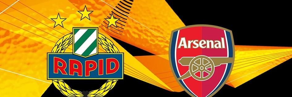 Rapid Wien v Arsenal (Europa League)