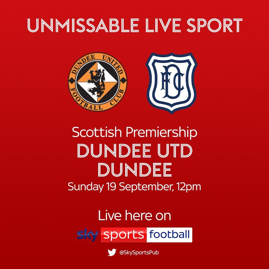 Dundee United v Dundee (Scottish Premier League)