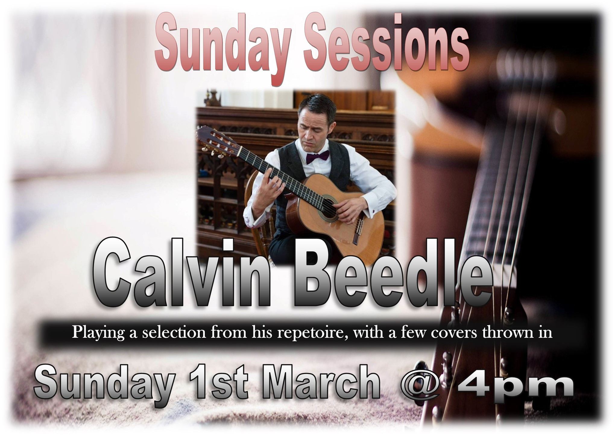 Sunday Session with Calvin Beedle