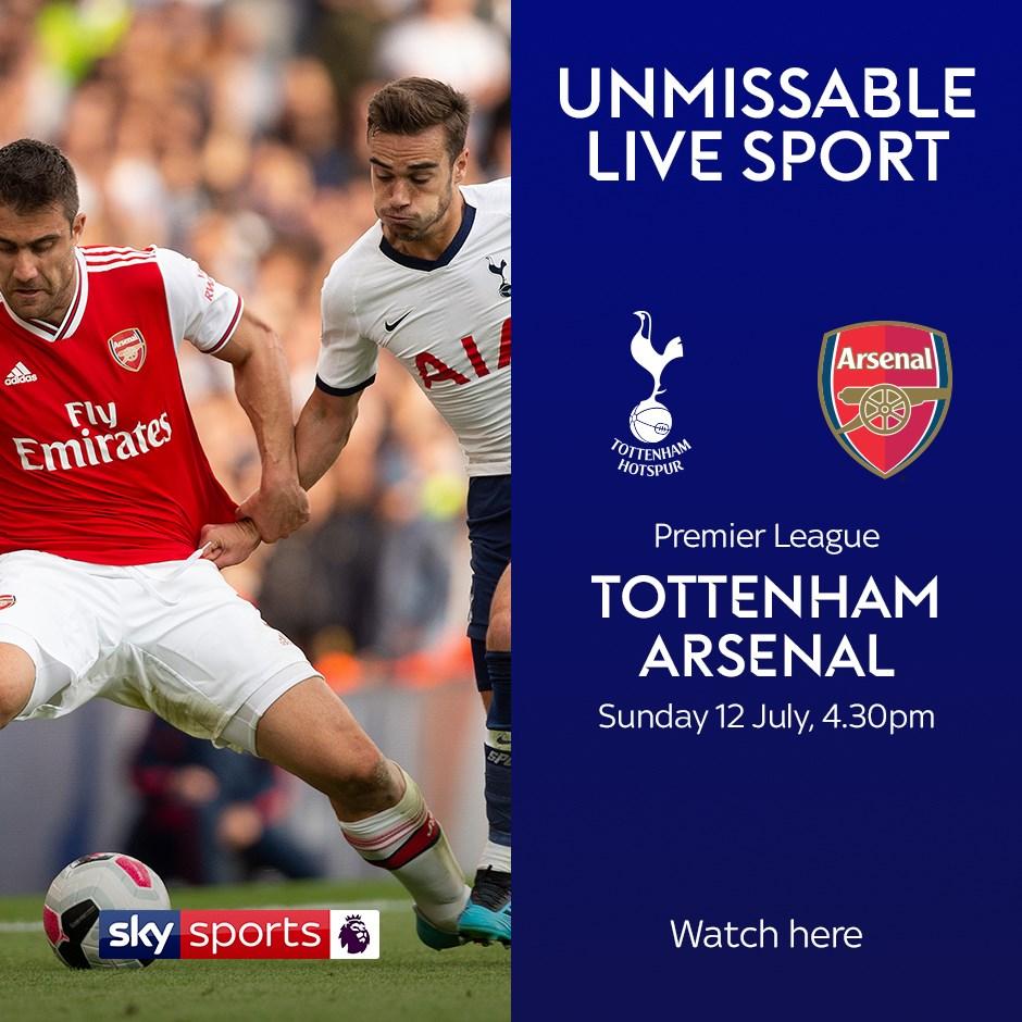 Tottenham v Arsenal (Premier League)