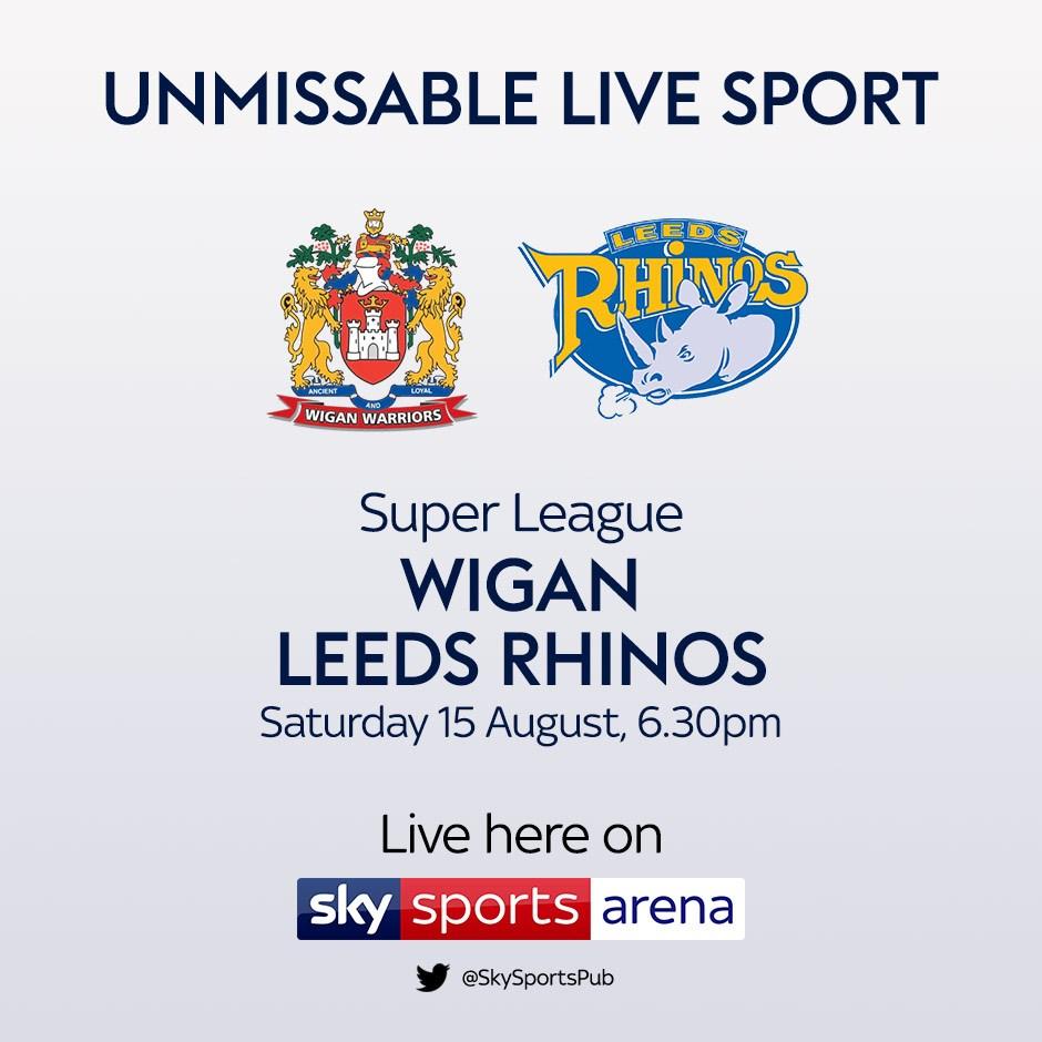 Wigan V Leeds (Rugby League - Super League)