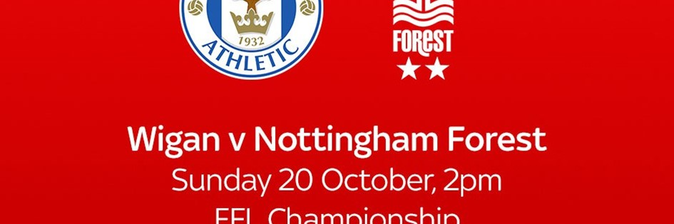 Wigan Athletic v Nottingham Forest (Football League)