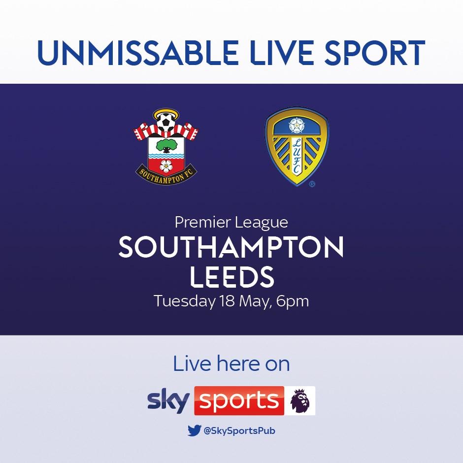 Southampton v Leeds United (Premier League)