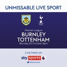 Burnley v Tottenham Hotspur (Premier League)