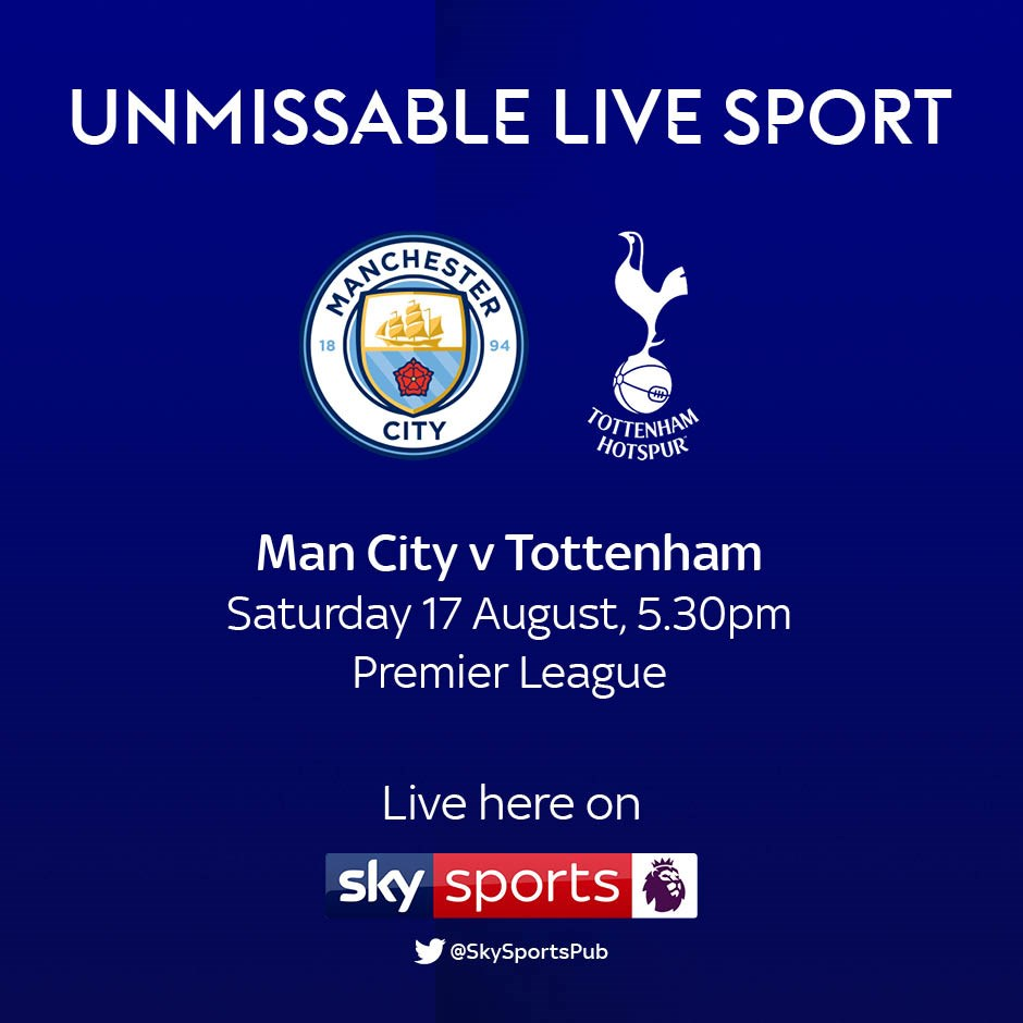 Manchester City v Tottenham (Premier League)