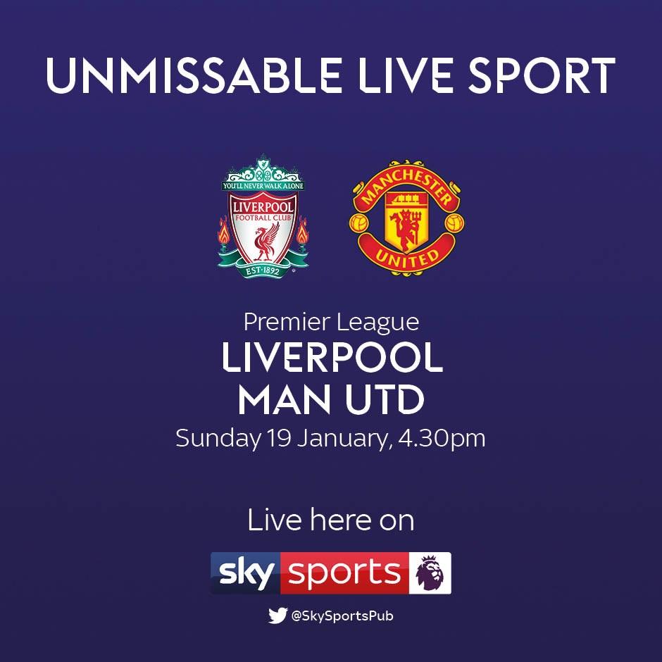 Liverpool v Manchester United (Premier League)