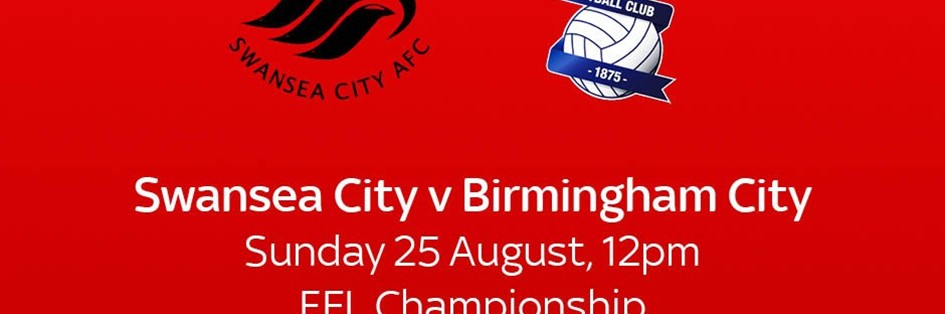 Swansea City v Birmingham City (Football League)