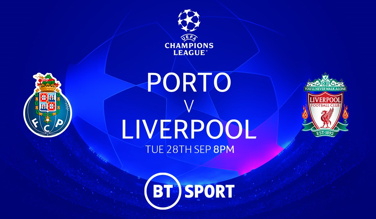 Porto v Liverpool (Champions League)