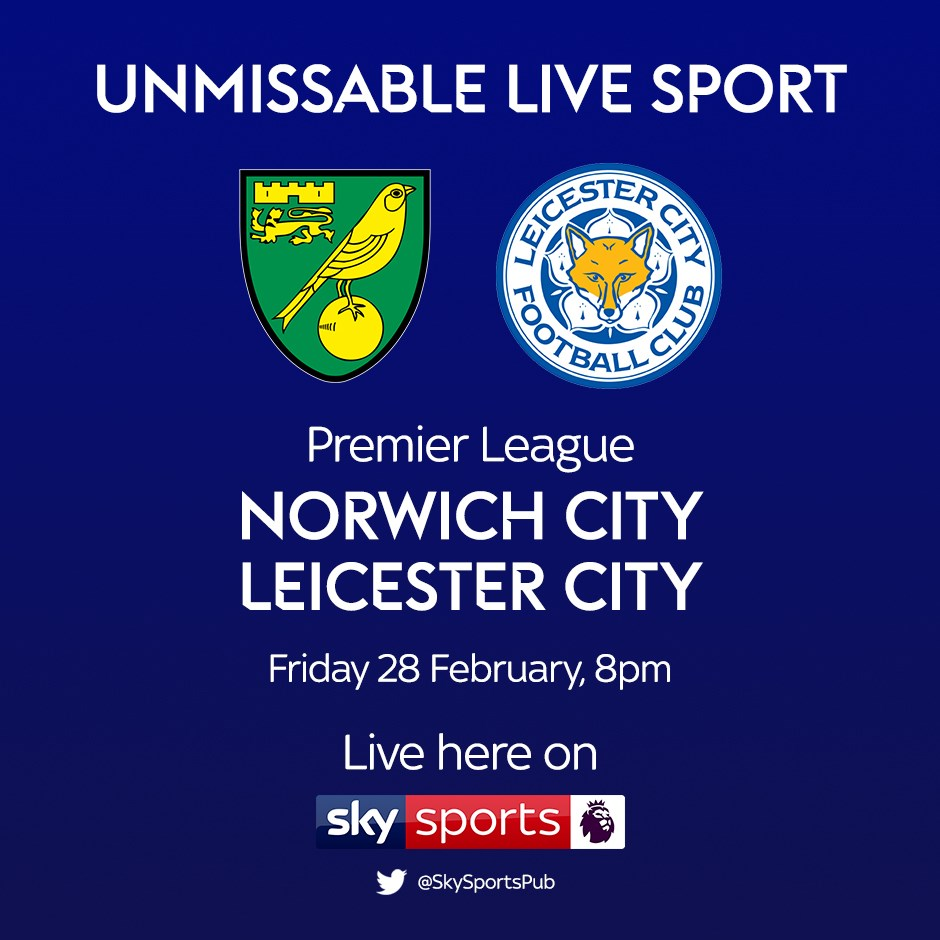 Norwich City v Leicester City (Premier League)