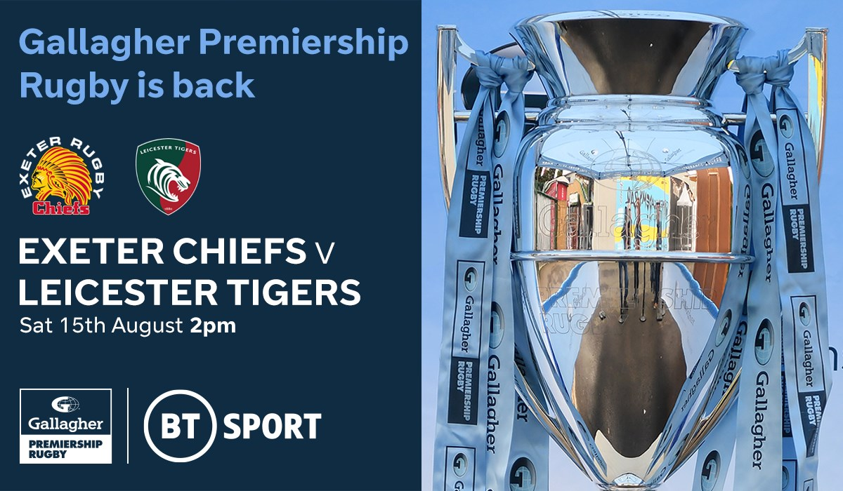 Exeter Chiefs v Leicester Tigers (Rugby Union - English Premiership)