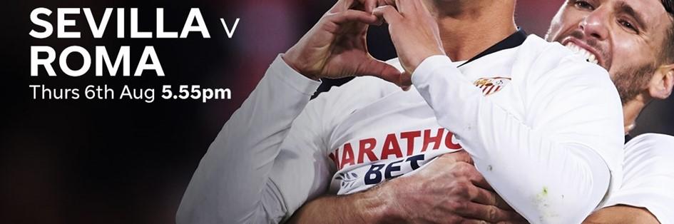 Sevilla v Roma (Europa League)