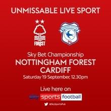 Nottingham Forest v Cardiff City (Football League)