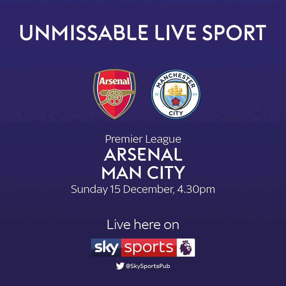 Arsenal v Manchester City (Premier League)