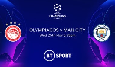 Olympiacos v Manchester City (Champions League)