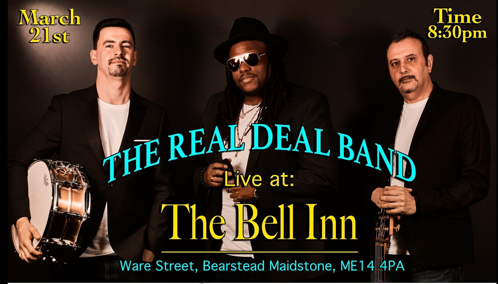 Live Music with The Real Deal Band