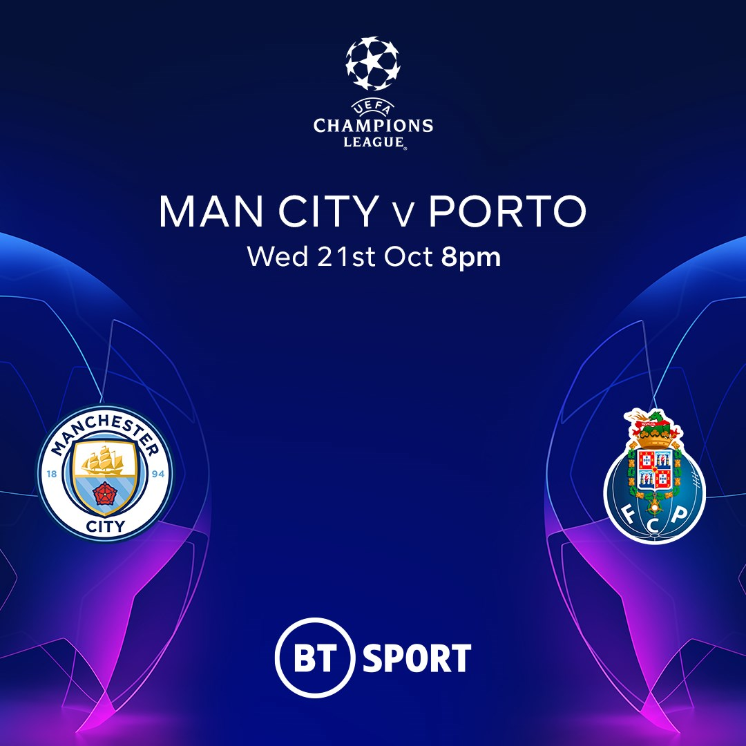 Manchester City v Porto (Champions League)