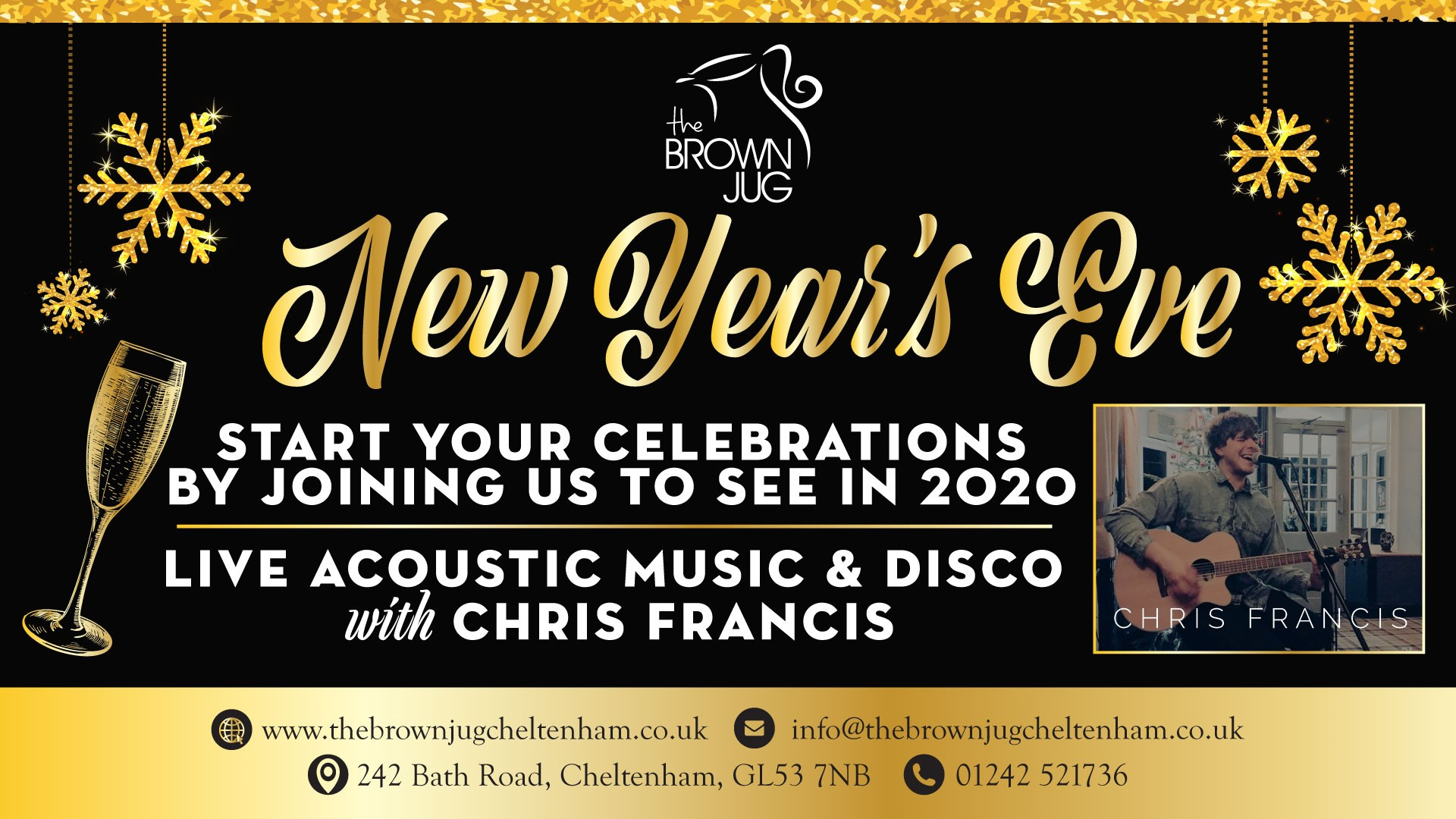 NEW YEARS EVE: CHRIS FRANCIS
