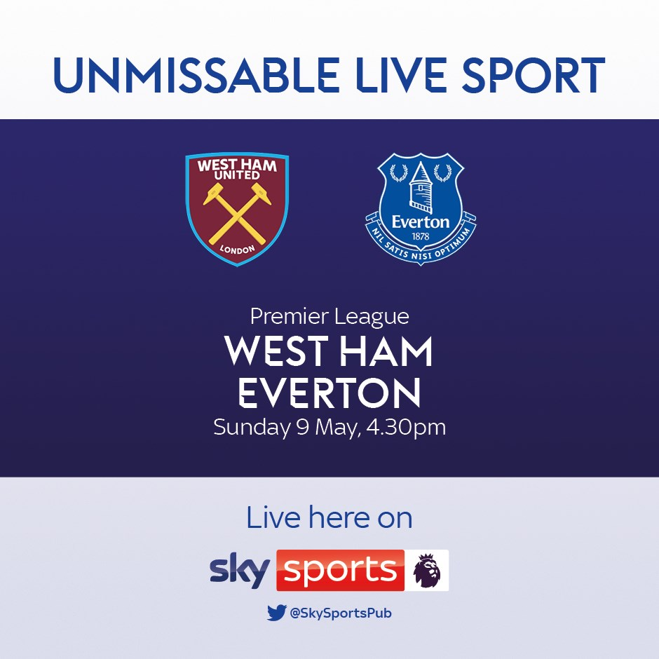 West Ham United v Everton (Premier League)