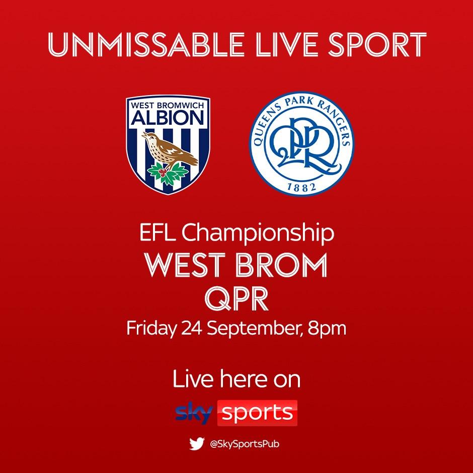 West Bromwich Albion v Queens Park Rangers (Football League)