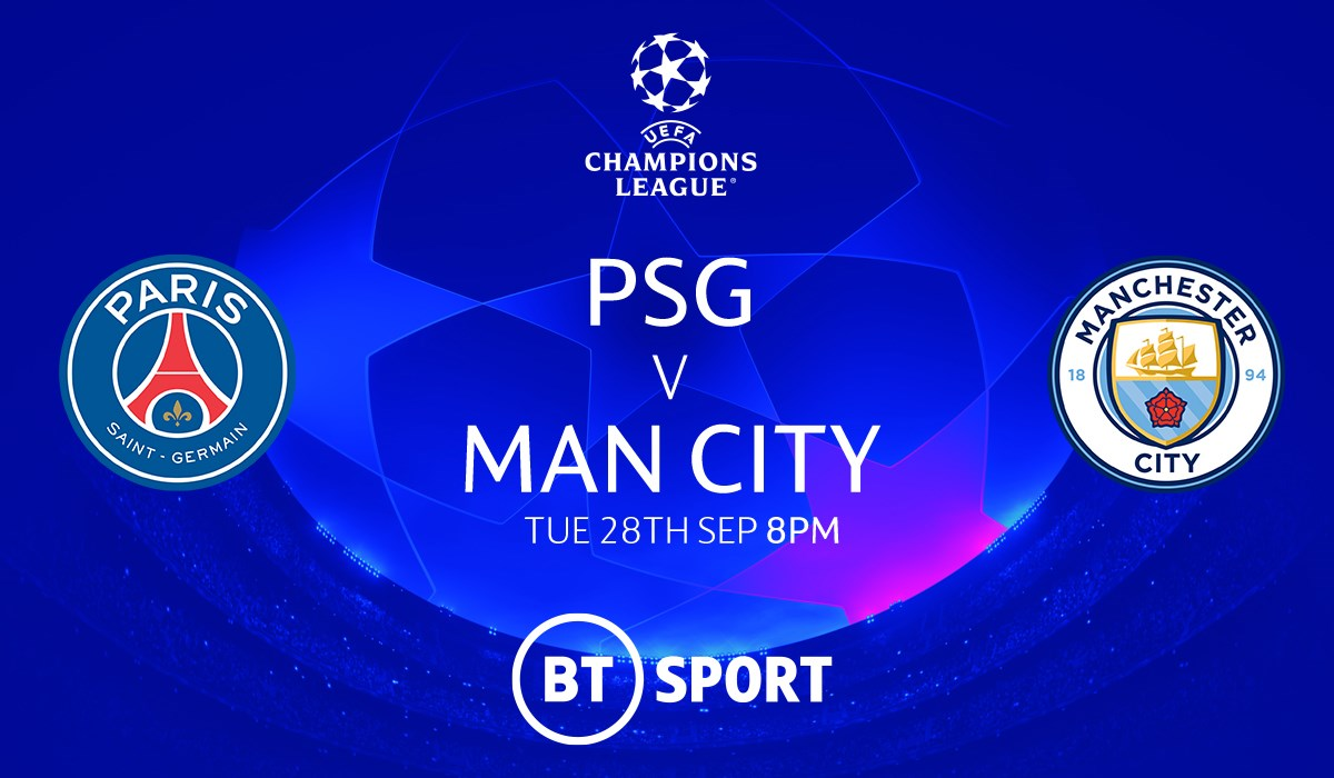 PSG v Manchester City (Champions League)