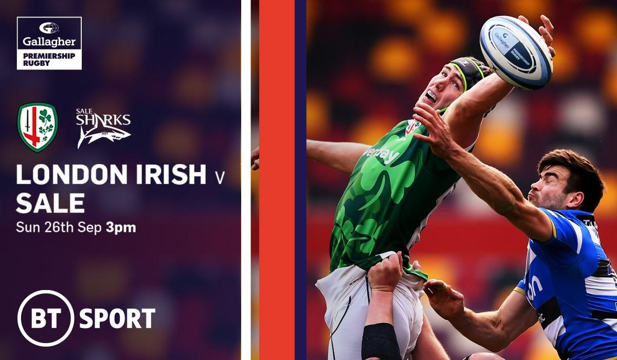 London Irish v Sale Sharks (Rugby Union - English Premiership)