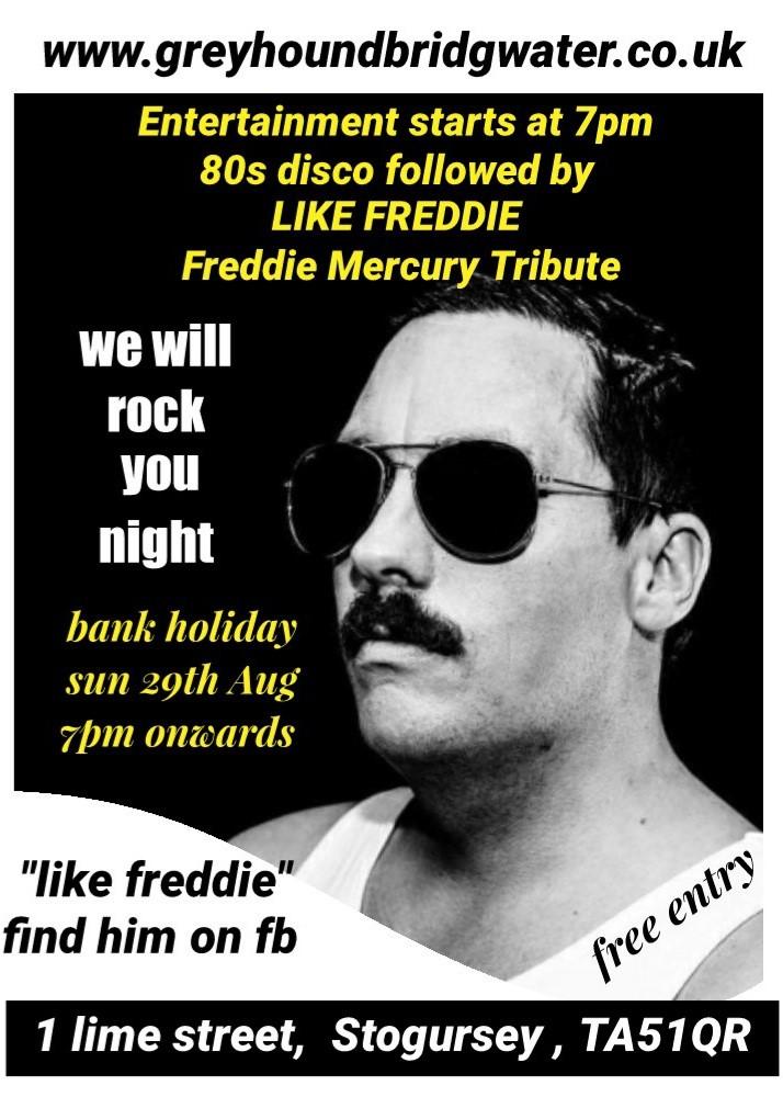We will rock you Freddie mercury tribute