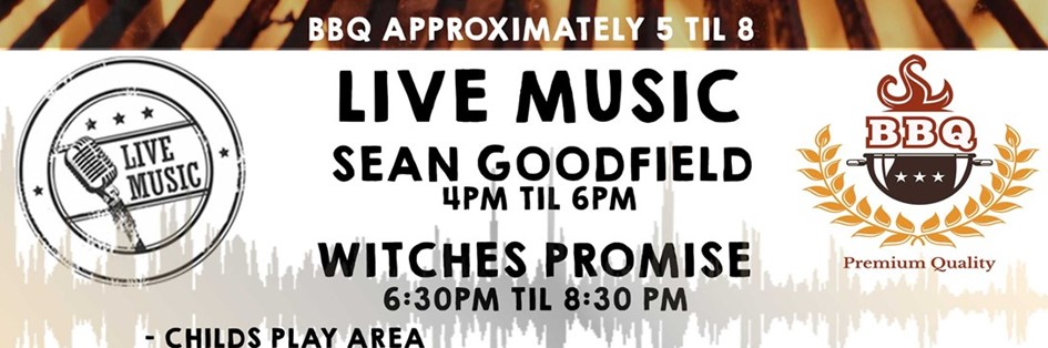 BBQ AND LIVE MUSIC !