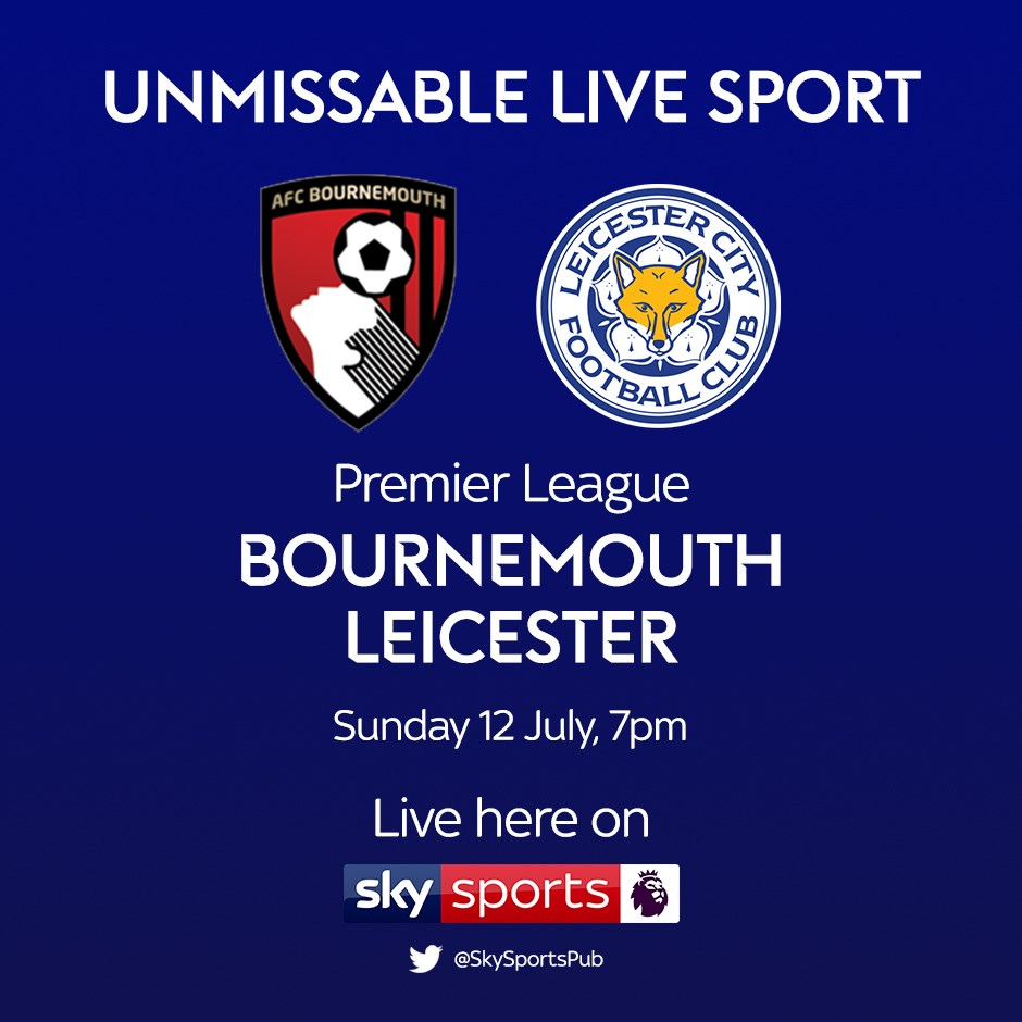 Bournemouth v Leicester City (Premier League)