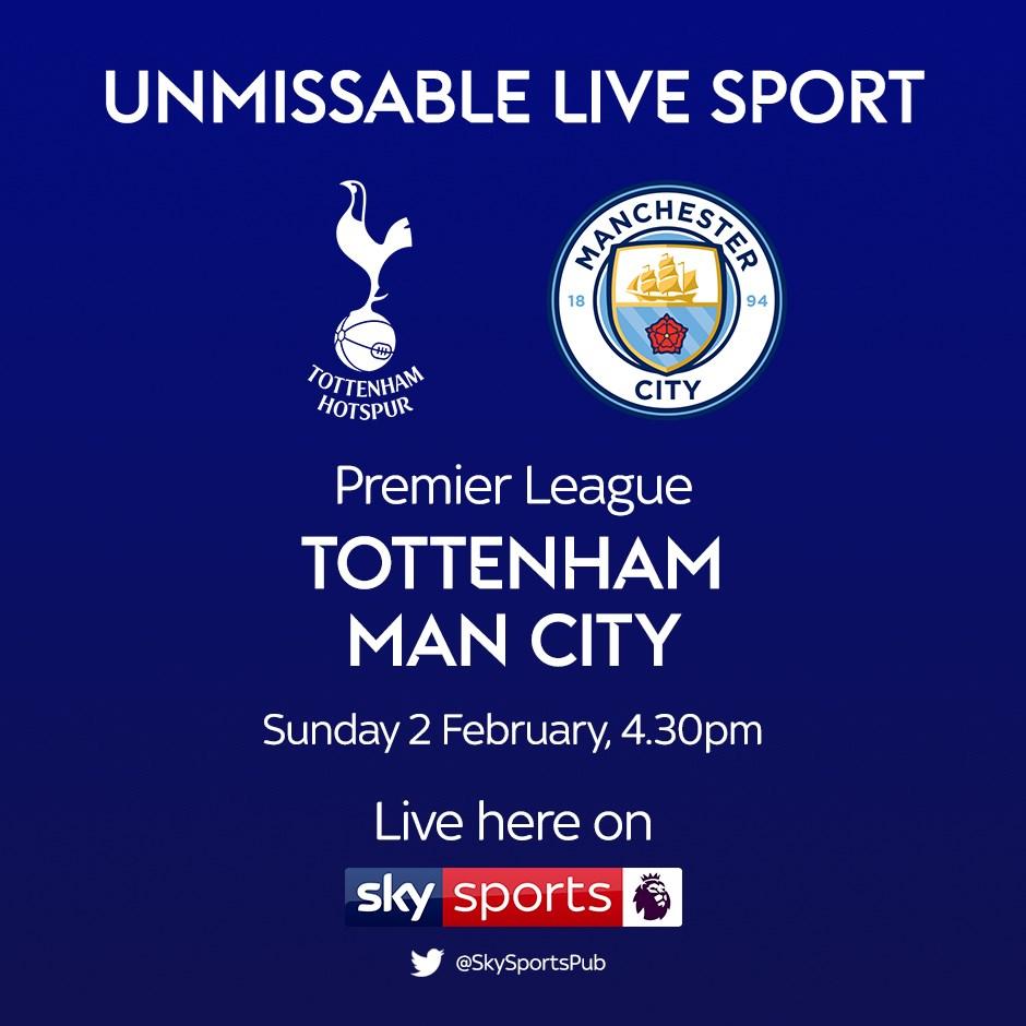 Tottenham Hotspur v Manchester City (Premier League)