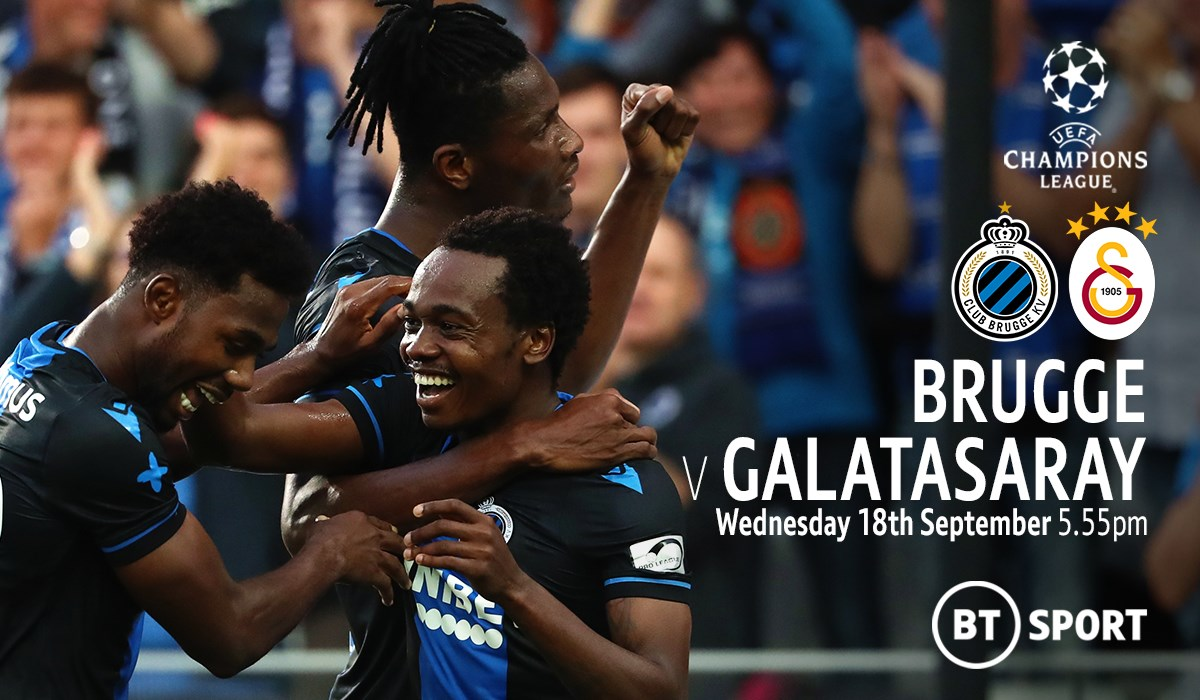 Club Brugge v Galatasaray (Champions League)