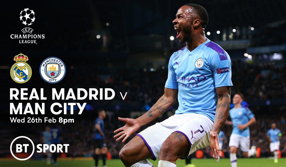 Real Madrid v Man City (Champions League)