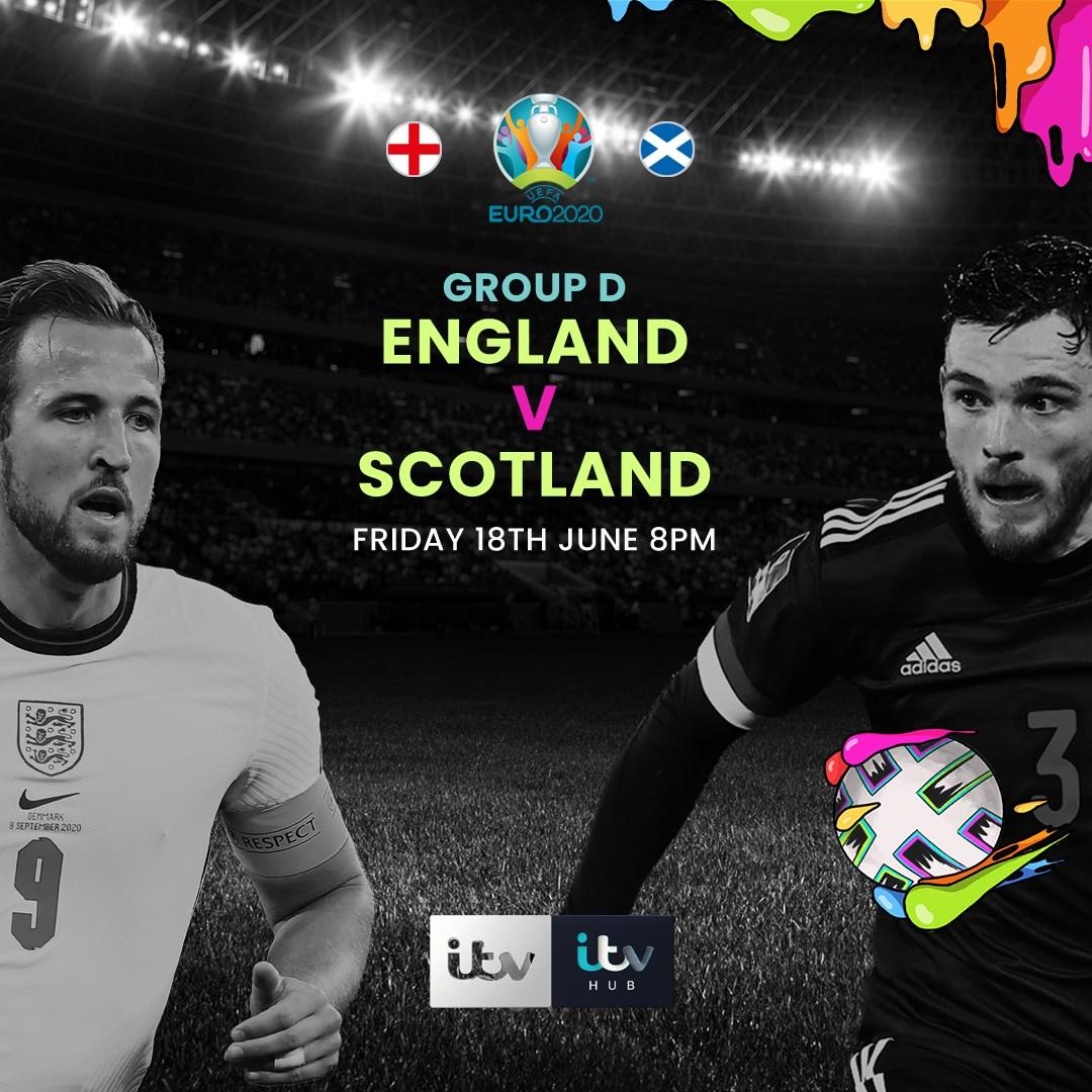 England v Scotland (Euro 2020)