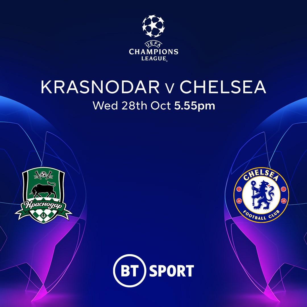 Krasnodar v Chelsea (Champions League)