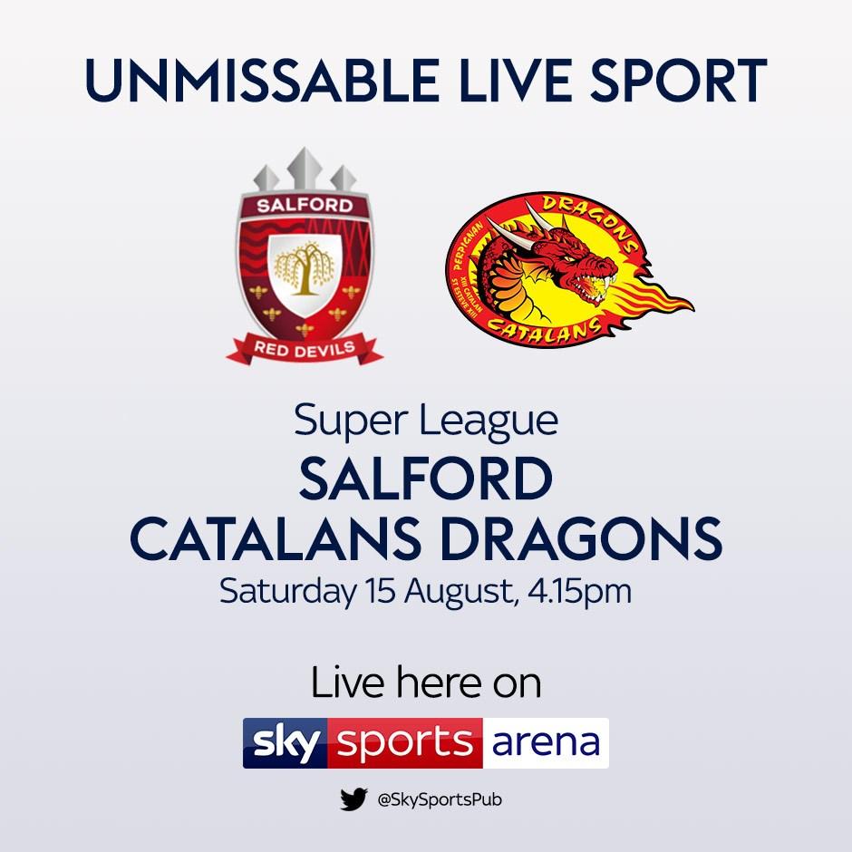 Salford V Catalans (Rugby League - Super League)