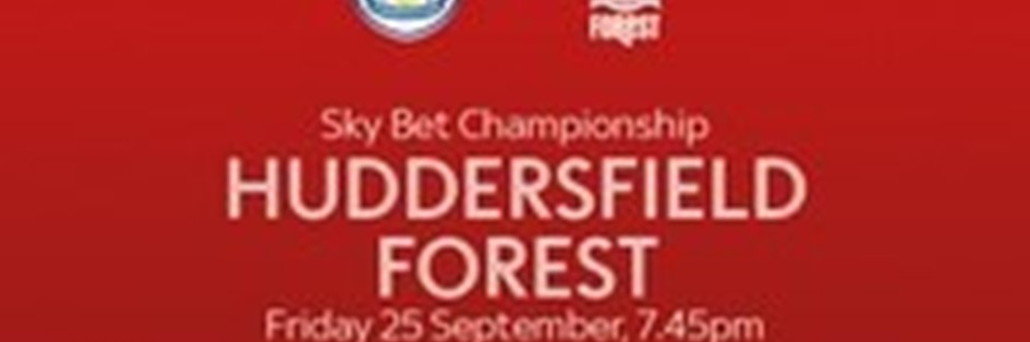 Huddersfield Town v Nottingham Forest (Football League)