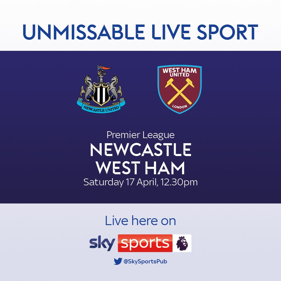 Newcastle United v West Ham United (Premier League)