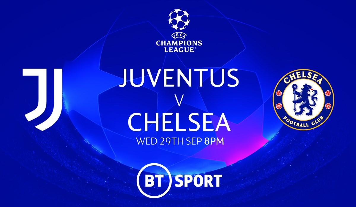 Juventus v Chelsea (Champions League)