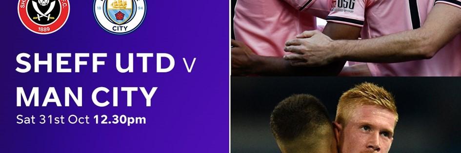 Sheffield United v Manchester City (Premier League)