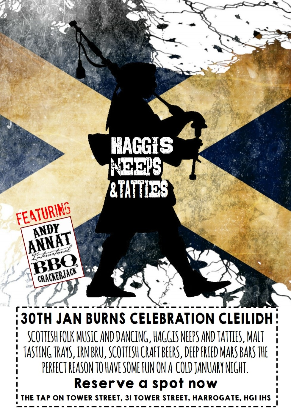 BURNS NIGHT CLEILIDH @ THE TAP