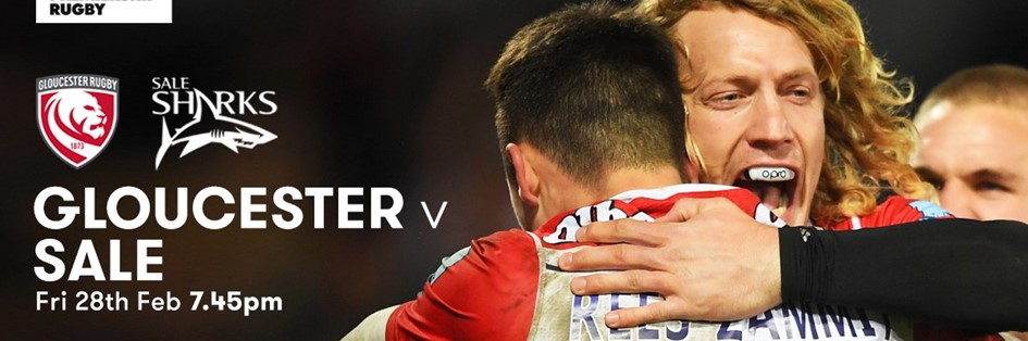 Gloucester Rugby v Sale Sharks (Rugby Union - English Premiership)