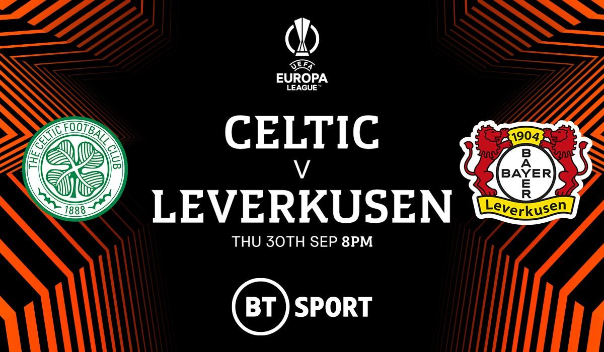 Celtic v Bayer Leverkusen (Europa League)